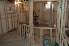 Floating Double Wall Framing